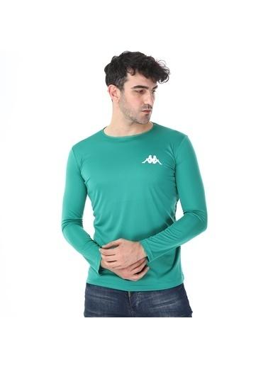 Kappa Poly T-Shirt Uk Barew Yeşil